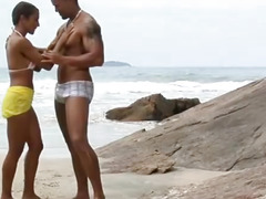 Hot Hardcore Sex In The Beach With Brazilian Babe Claudia Bella