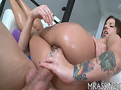 Unfathomable anal hammering