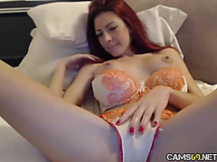 Cute Redhead mother I'd like to fuck Cookie Play on Livecam threatening fearsome Cams69.net