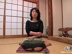 C threatening Aged menacing Keiko Hiroyama threatening 44yo