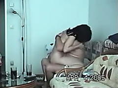 Sexy and obscene Indian callgirl riding on a aged boy