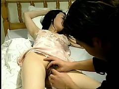 Korean sleeping girl