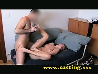Porn Tube of Casting - Anal Creampie For Cooky Blonde