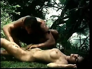 Porno Video of Jungle Man Retro Movie