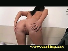 Casting - Teen has no Idea what she's doing