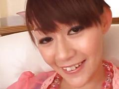 Finger fucking porn scenes along curvy a-hole Rina Wakamiya