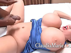 Biggest Meatballs Claudia Marie Singing And Then Drilled By BBC