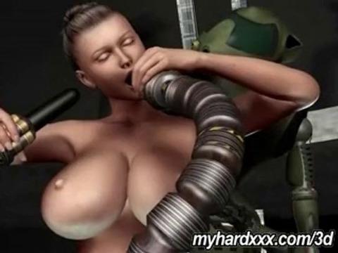 3d порно с роботом онлайн