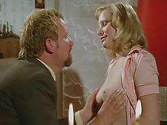 Classic porn fuck filmed in a hotel
