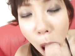 Top porn moments with dong engulfing Ren Asano