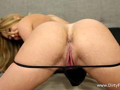 Bitch In A Miniskirt Enjoys Hardcore Hotel Room Fucking