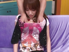 Big wang sluggishly pleases concupiscent Ayaka Fujikita