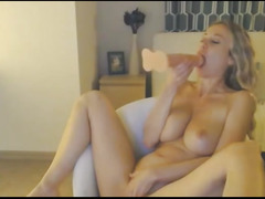 Hardcore Sex Machine Blond Lady