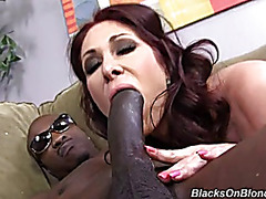 Sexy mother Tiffany takes BBC in her gazoo