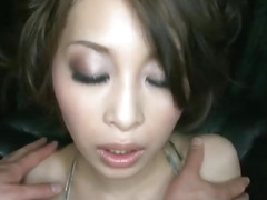 Saki Ootsuka feels awesome during the time that masturbating