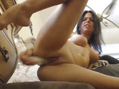 Sexy mother I'd like to fuck Copulates Her Bawdy Cleft Hardcore