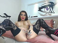 Gorgeous Amazingass1 in dark nylons / Webcamvideo threatening-threatening free episode from popular adult web camera