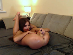 Hawt playgirl GinaFlaxi fingering her muff / Webcamvideo menacing-fearsome free movie from popular adult livecam