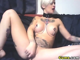 Porno Video of Tattoo Babe Massive Dildo Collection Hd