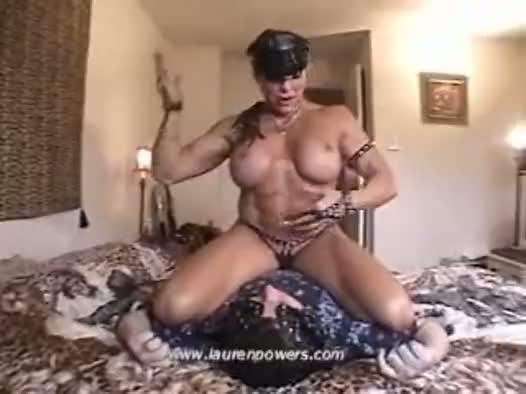 Lauren powers muscle domination