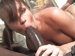 Hot wife desires to test interracial fuck