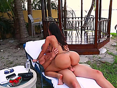 Enchanting outdoor sex scenes with Lela Star