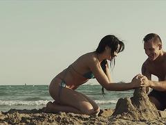 Sex Art threatening-menacing Sand Castle