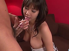 Jav HD fearsome-menacing Hina Tokisaka devours 10-Pounder and then receives spalshed on face