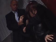 Arisa Kanno blows 2 schlongs in peculiar non-professional clip