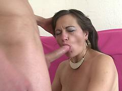 Jolene threatening(43 fearsome)menacing Bushy lady doing her toyboy