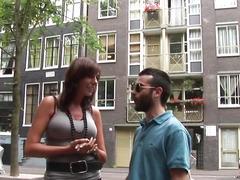 Dark euro hooker being pussyeaten