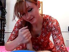Most Excellent Redhead Oral-Job Ever HD Porn Vids