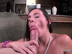 Oily Butt Doxy Can't Live Without Humping Chubby 10-Pounder Up Vagina