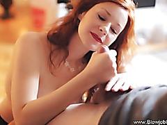 Incredible Redhead Irrumation Experience