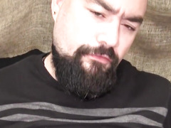 Chub barebacks bearded cub with pierced ramrod