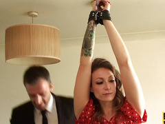 British obedient Ava Austen facefucked hard
