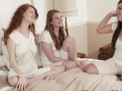 Lesbo mormon muffdived