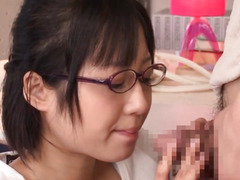 Japanese legal age teenager girlfriend cocksucking bf rod