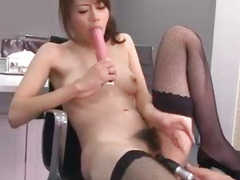 Hot office porn experience along Maki Hojo