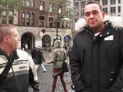 Amsterdam prostitute receives cumshowered