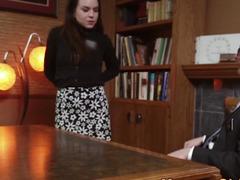 Mormon jizzed by elder