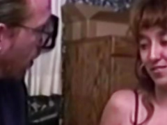 Vintage redhead fucked right into an asshole by oldman
