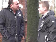 Bulky Amsterdam hooker cockriding tourist