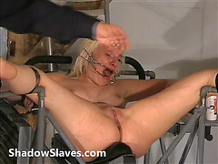2 slaves way-out snatch punishments