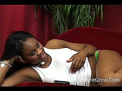 Large Titties Ebon Receive Double Penetration