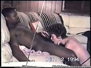 Porno Video of Retro Interracial Mature Bj