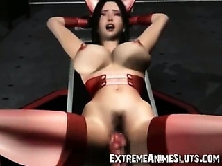 Porn Tube of 3d Space Slut Weird Fuck!