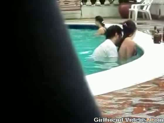 Caught Fucking The Pool