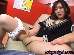 Nana Aoyama Sucking Cock in Coffee Shop