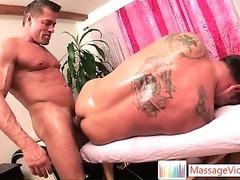 Finn Daniels gets extra deep massage